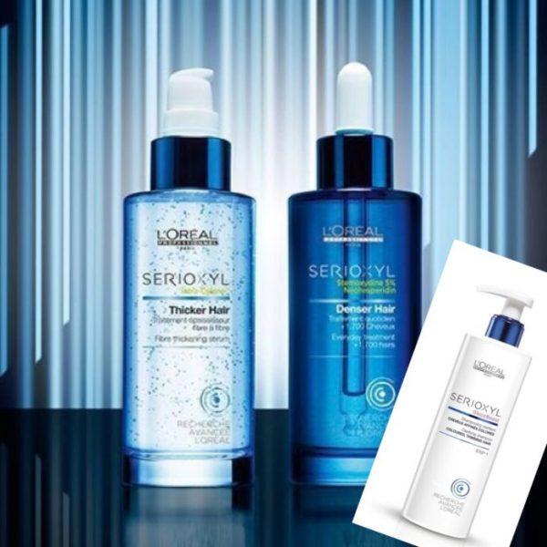 Θεραπεία τριχόπτωσης και πύκνωσης μαλλιών