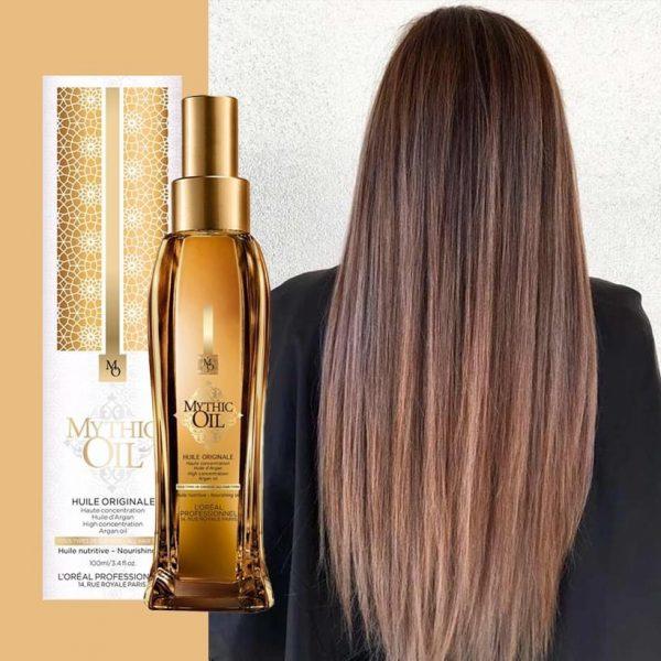 ΛάδιΜαλιων μιθικ οιλ για για ξηρά άτονα μαλλιά
